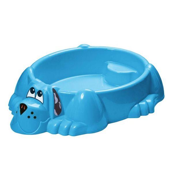 Песочница-бассейн - Собачка