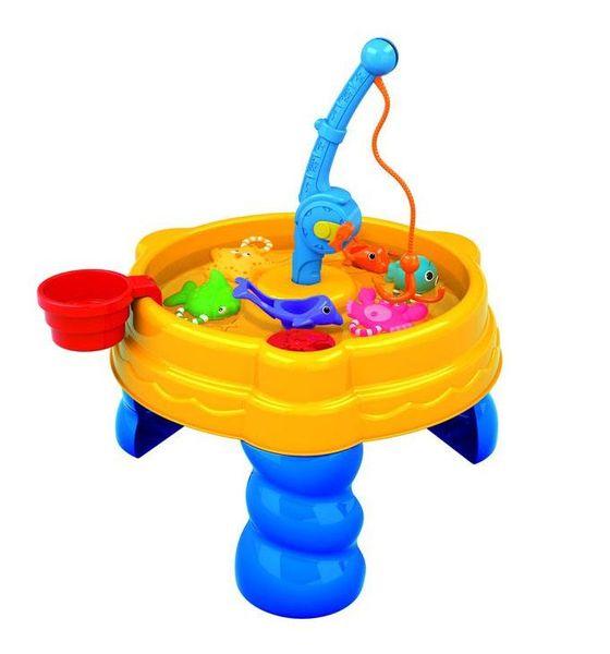 """Стол для игр с песком и водой """"Удачная рыбалка"""" (13 предметов)"""