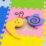 """Игровой коврик-пазл """"Окружающий мир - Дикие животные"""", 0,81 м2"""