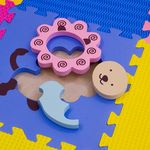 """Игровой коврик-пазл """"Окружающий мир - Животные"""", 0,81 м2"""