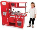 "Игрушечная кухня ""Винтаж"", красная"