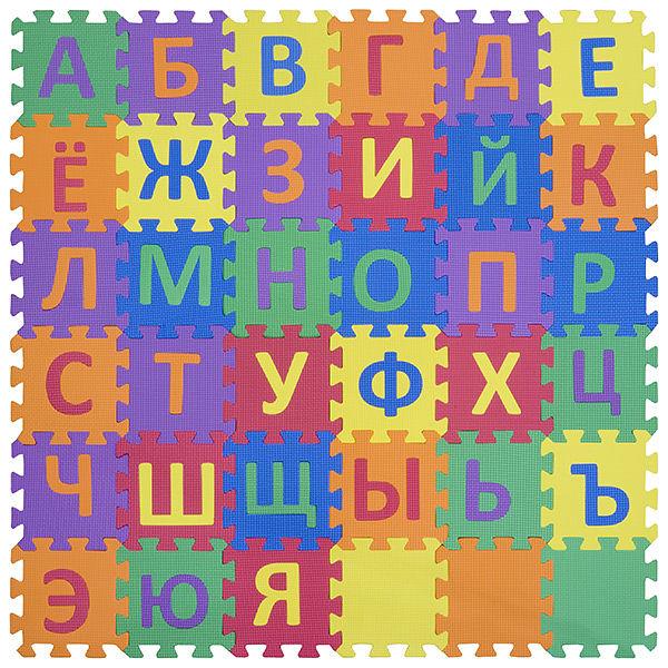 """Игровой коврик-пазл """"Алфавит-3-10"""", т. 10 мм, 0,81 м2"""