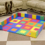 "Игровой коврик-пазл ""Мозаика-12-10"", т. 10 мм, 0,54 м2"